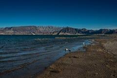 obszar krajowych jeziora rekreacja miodu Obrazy Royalty Free
