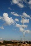obszar miasta dmitrov nocy Moscow tower telekomunikacyjnych zimy Fotografia Royalty Free