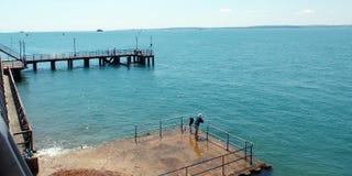 Obszar przybrzeżny Portsmouth Obrazy Stock