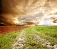 obszar rolnictwa w kształcie Zdjęcia Royalty Free