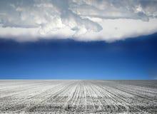 obszar rolnictwa w kształcie Fotografia Royalty Free