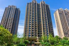 Obszar zamieszkały w Chińskich miastach Obrazy Stock
