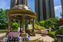 Obszar zamieszkały w Chińskich miastach Obraz Royalty Free