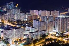 Obszar Zamieszkały w Hong Kong Zdjęcie Stock