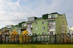 Obszar zamieszkały w Moskwa, Rosja Zdjęcia Royalty Free
