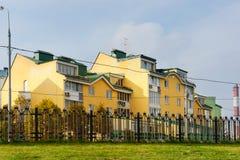 Obszar zamieszkały w Moskwa, Rosja Zdjęcia Stock