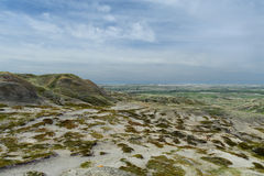 Obszaru trawiastego parka narodowego sceniczny widok Zdjęcia Stock
