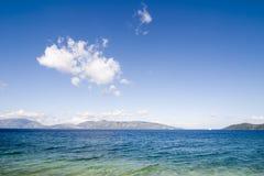 obszary przybrzeżne 2006 blisko kefalonia sami. Zdjęcia Royalty Free