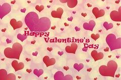 obszyty dzień serc ilustraci s dwa valentine wektor zdjęcia stock