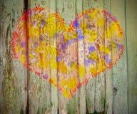 obszyty dzień serc ilustraci s dwa valentine wektor Obrazy Royalty Free