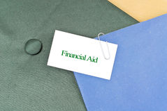 Obtaining Financial Aid Royalty Free Stock Images