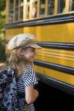 Obtenção no ônibus Fotografia de Stock