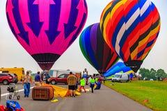 Obtenant Baloons prêt Photographie stock