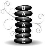 Obtención del balance Fotos de archivo libres de regalías