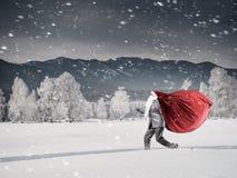 Obtenez vos cadeaux à temps Media mélangé Images stock