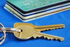 Obtenga el crédito para comprar las propiedades inmobiliarias Imagen de archivo