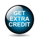 Obtenha o crédito extra ilustração royalty free