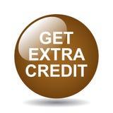 Obtenha o crédito extra ilustração do vetor