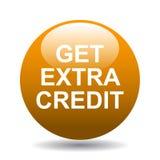 Obtenha o crédito extra ilustração stock