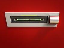 Obtenha o dinheiro do ATM Fotografia de Stock Royalty Free