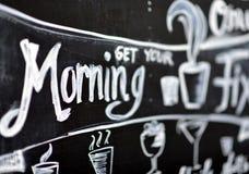Obtenha sua manhã Fotos de Stock Royalty Free