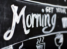 Obtenha sua manhã Imagens de Stock Royalty Free