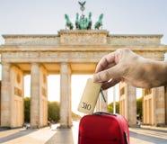 Obtenha um hotel em Berlim Foto de Stock Royalty Free
