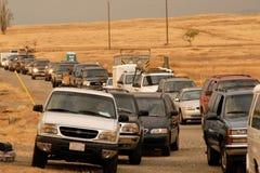 Obtenir de véhicules Photo libre de droits