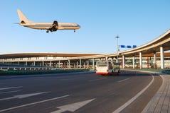 Obtenir de vol Image libre de droits