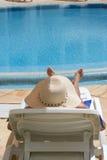 Obtention de l'ombre Photographie stock libre de droits