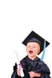 Obtention du diplôme Photo libre de droits