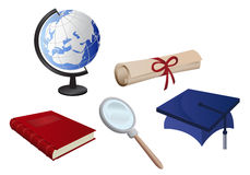 Obtention du diplôme Images libres de droits