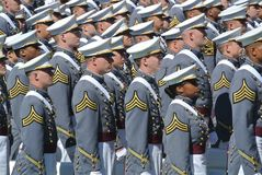 Obtention du diplôme 2015 de West Point image stock