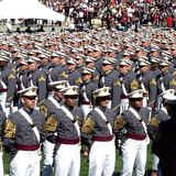 Obtention du diplôme 2015 de West Point photo libre de droits