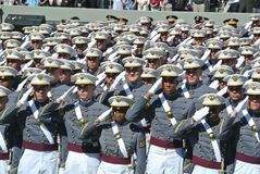 Obtention du diplôme 2015 de West Point images stock