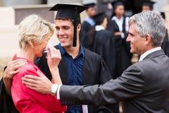 Obtention du diplôme fière de mère