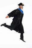 Obtention du diplôme I d'université Photos libres de droits