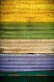 Obturador cerrado colorido Imagen de archivo libre de regalías