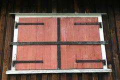 Obturador de la ventana Imagenes de archivo