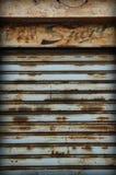 Obturador de rolamento velho Foto de Stock