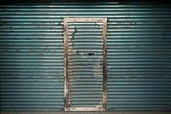 Obturador del laminado de acero Imagenes de archivo