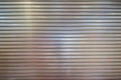 Obturador del metal, aluminio foto de archivo libre de regalías