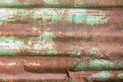 Obturador del rodillo oxidado Imágenes de archivo libres de regalías