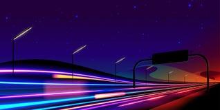 Obturador lento del semáforo en vector ilustración del vector