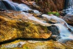 Obturador lento do cenário da queda da água Fotografia de Stock