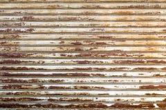 Obturador oxidado Foto de archivo