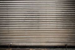 Obturador polaco del laminado de acero Fotos de archivo libres de regalías