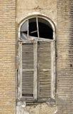 Obturador viejo de la ventana Imágenes de archivo libres de regalías
