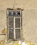 Obturador viejo de la ventana Fotos de archivo
