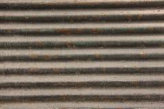 Obturadores de la tienda del metal Imagen de archivo